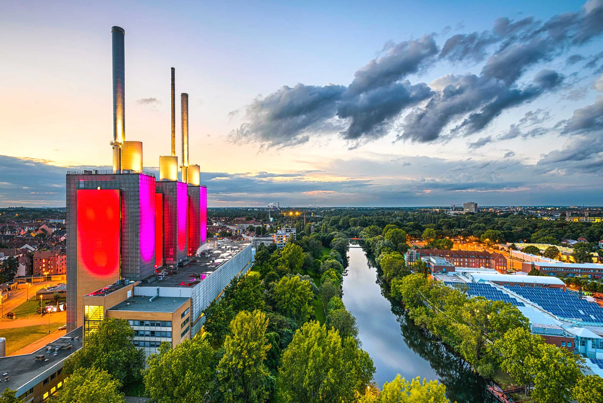 Hanover Trade Fair Capital Of Lower Saxony Prologis Germany