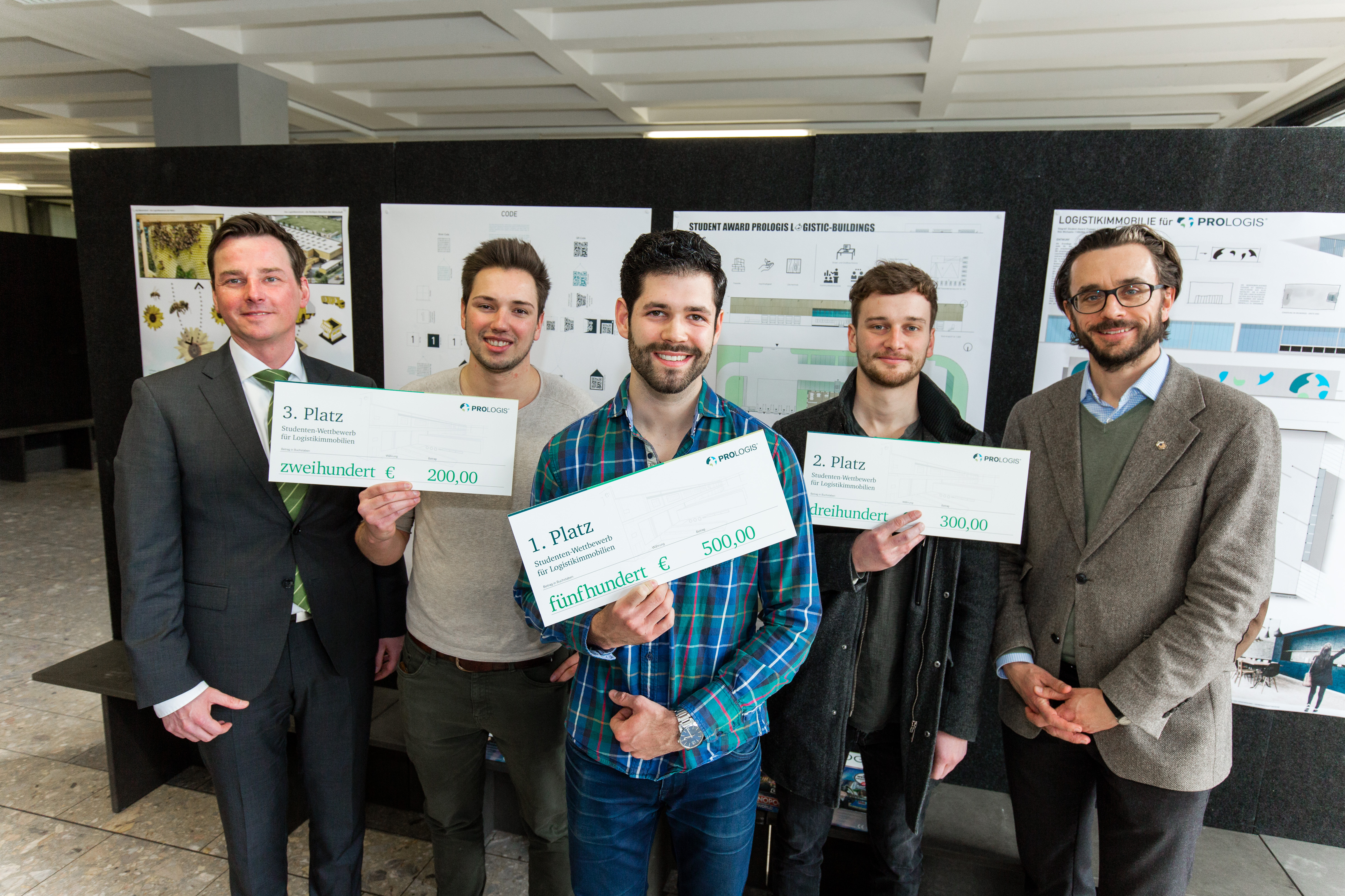 "Prologis Student Award ""Prologis Logistic-Buildings"""