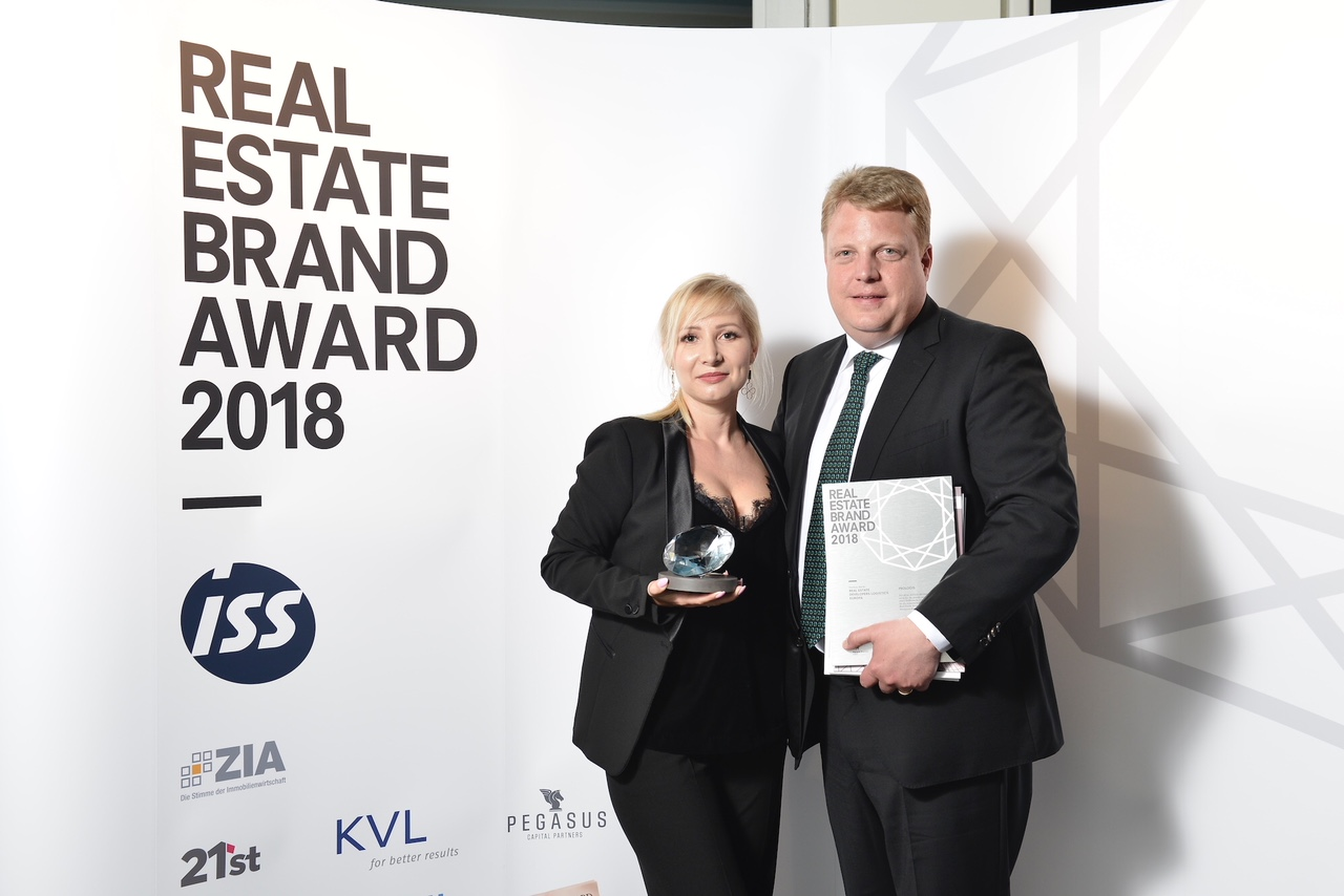Prologis wins Real Estate Brand Award
