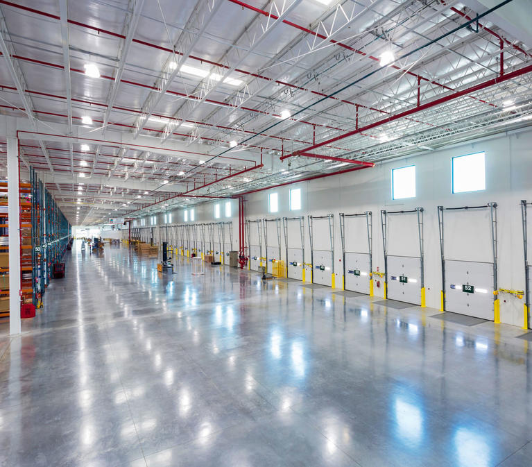 Prologis Essentials Marketplace LEDs