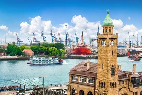 Hamburg, port, logsitics hub Germany