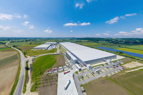 Munich, Bruckberg, Germany, Prologis, BMW, Logistics facility