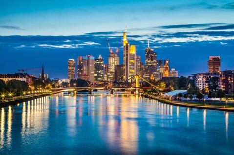 Frankfurt main logistics spot Germany