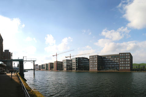 Rhine-Ruhr, Megacity, logistics hot spot Germany west