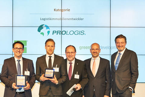 Prologis BVL best logistics brand Germany