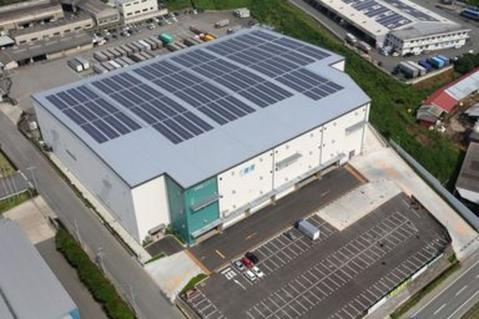 Japan llogistics sustainability solar program