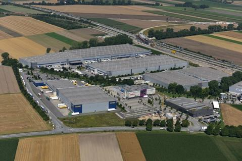Munich Germany logistics park