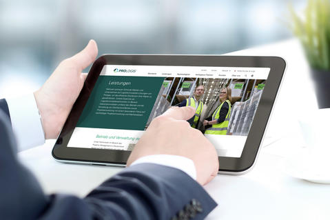 New Website for Prologis Germany