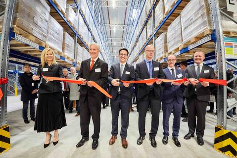 Opening Distribution Center Muggensturm