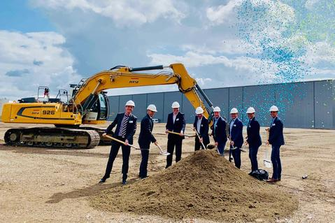 Construction Start Prologis Park Hünxe