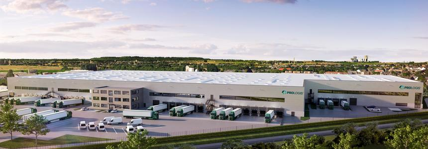 Visualisation Prologis Park Pulheim