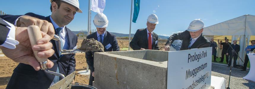 Laying of the foundation stone Muggensturm 2018